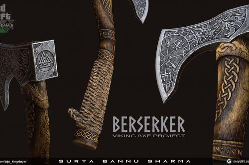 leviathan killer - The Berserker Axe