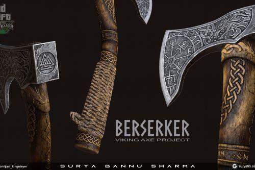 leviathan killer - The Berserker Axe