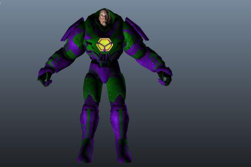 Lex Luthor (Injustice Pack) Retexture