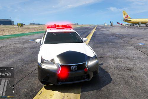 Lexus GS 350 F Sport Japanese police [Add-On]
