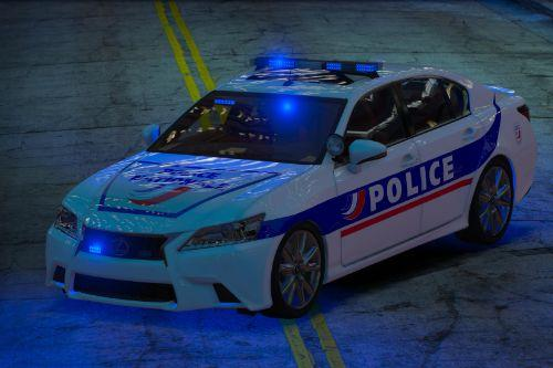 Lexus GS 350 Police Nationale