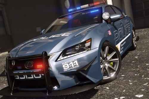 Lexus GS 350 | Hot Pursuit Police [Add-On / Replace | Template]