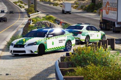 Lexus GS350 Guardia Civil Trafico | Juguivi