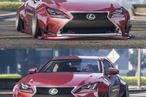 Lexus RC350 Rocket Bunny [Replace | Add On]