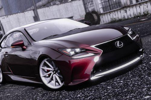 Lexus RC350 [ Add-On / Replace ]