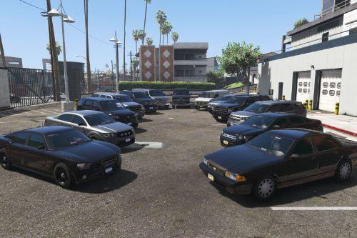Liberty City Police Department(LCPD) Unmarked Vehicle Pack