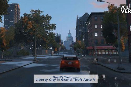 liberty city traffic paths