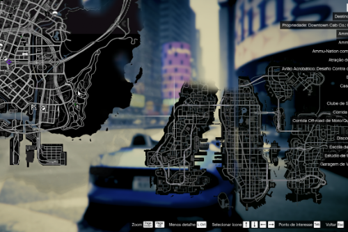 Liberty City V (Rewind) 4K Full Minimap