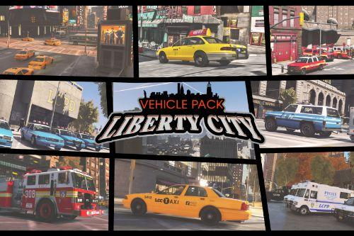 Liberty City Vehicle & Ped Pack (FDLC, LCPD and more) [Add-On | Liveries]