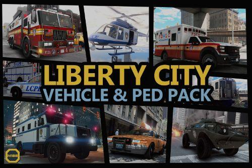 Liberty City Vehicle & Ped Pack (FDLC, LCPD and more) [Add-On | Liveries | Sounds | Custom Shards]