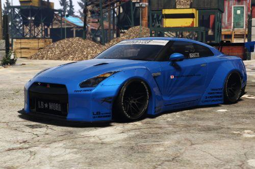 Liberty Walk Nissan GT-R [Add-On | Tuning | Liveries]