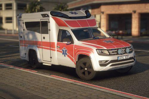 Lietuvos Greitoji Medicinos Pagalba Volkswagen Amarok | Lithuanian