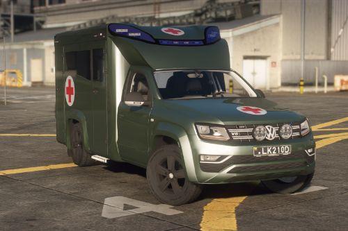 Lietuvos Karo Paramedikai Volkswagen Amarok | Lithuanian