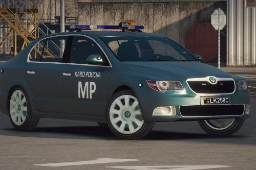 Lietuvos Karo MP - Skoda SuperB