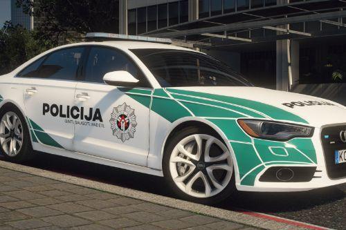 Lietuvos Kelių Policija - Audi A6 | Lithuanian
