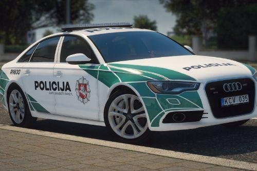 Lietuvos Policija - Audi A6 | Lithuanian