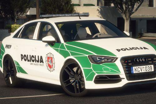 Lietuvos Policija - Audi S3 | Lithuanian