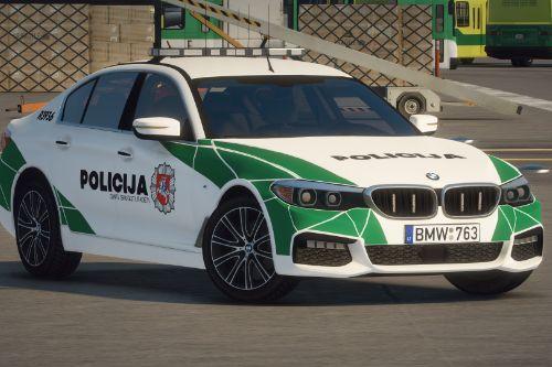 Lietuvos Policija - BMW 540i xDrive | Lithuanian