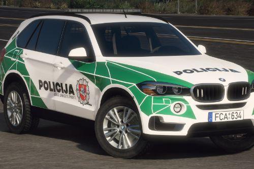Lietuvos Policija - BMW X5