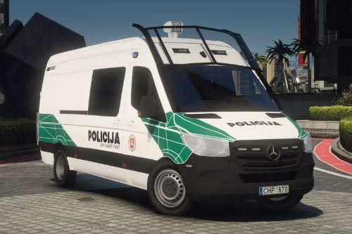 Lietuvos Policija - Mercedes-Benz Sprinter | Lithuanian