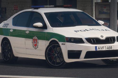 Lietuvos Policija - Škoda Octavia VRS | Lithuanian