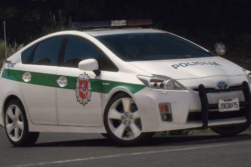 Lietuvos Policija - Toyota Prius