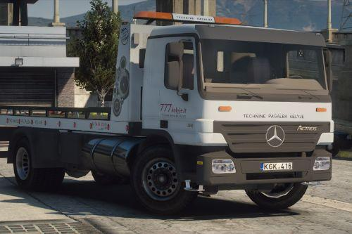 Lietuvos Techninė Pagalba Kelyje - Mercedes-Benz Actros | Lithuanian