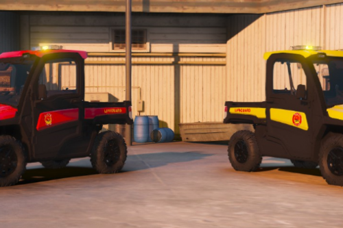 Life Guard Skins for John Deere Gator