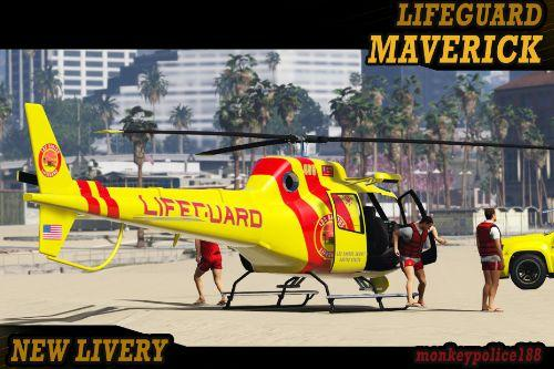 Lifeguard Maverick [Add-On | Livery]