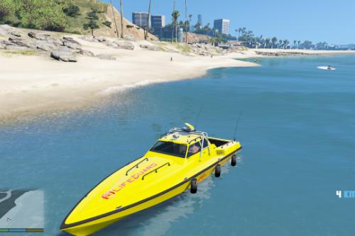 Lifeguard rescue boat (PaintJob)