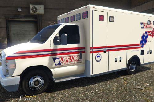 Life Line Ambulance Livery (Ford E450)