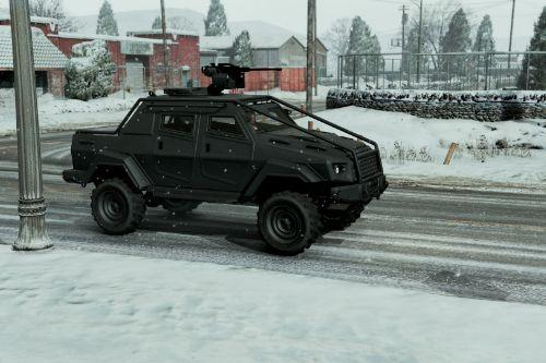 Lifted Insurgent Real 4x4 Handling Mod