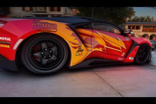 Lightning McQueen Inspired Livery for WMotors Fenyr Supersport