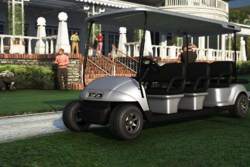 Limo Golf Cart [Add-On / Replace]