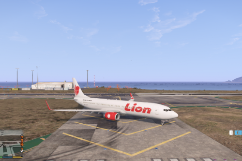 Lion Air Boeing 737-900ER Classic Livery