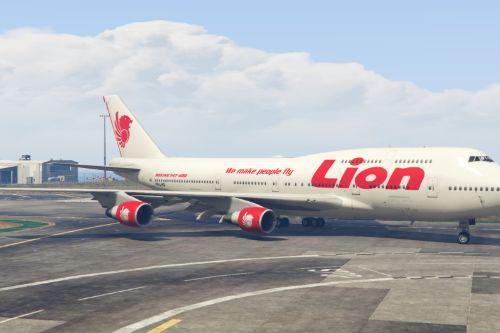 Livery Lion Air Boeing 747-400 PK-LHG
