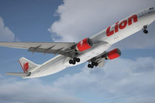 Lion Air Livery - A330-300 [P&W]