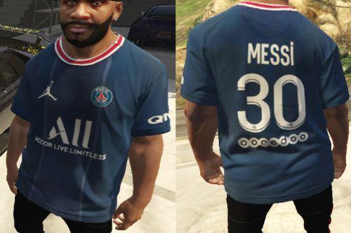 Lionel Messi PSG jersey