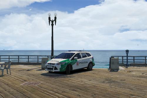 Lithuania 2014 Metropolitan Police Ford Focus