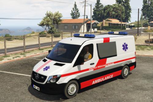 Lithuania Mercedes Vito Ambulance