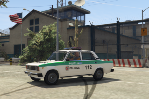 Lithuania VAZ-2105-2107-LADA-POLICE Livery