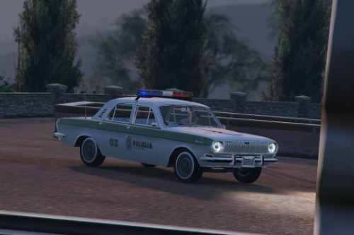 Lithuanian GAZ-24 POLICE livery
