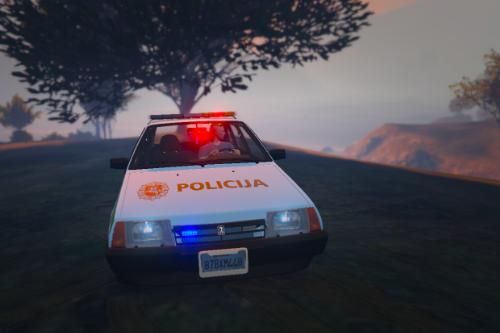 Lithuanian VAZ-2109-21099-LADA-POLICE