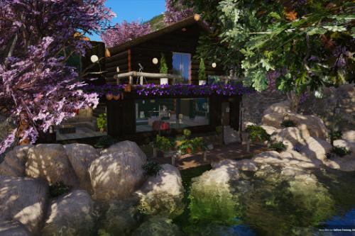 Little house in Mount Gordo [Menyoo / FiveM]