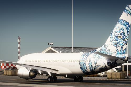 [Liveries] 737-700 BBJ Livery Pack