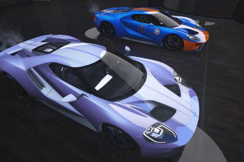 Liveries for 2017 Ford GT by Aige