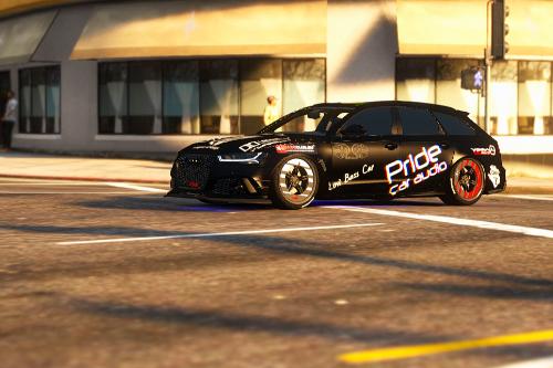 Paintjob for [DTD]RsMods' 2015 Audi RS6