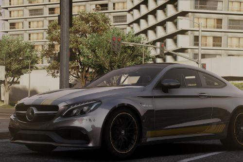 Livery for Mercedes Benz AMG C 63 S Coupe 2016([YCA]ANSWER)[4K]