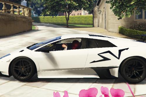 [Livery] Lamborghini Murcielago LP670-4 Superveloce 'Big SV Logo' BLACK