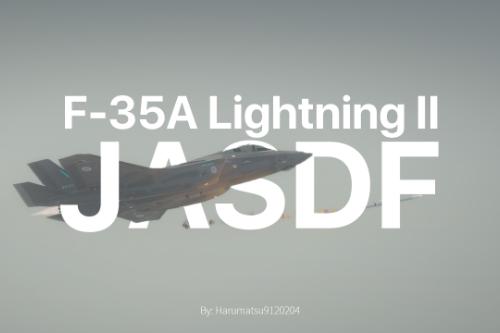 [Livery] Lockheed Martin F-35A Lightning II JASDF(Japan Air Self Defense Force) Ver2